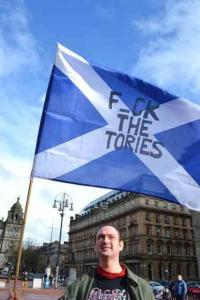 FTT flag george square