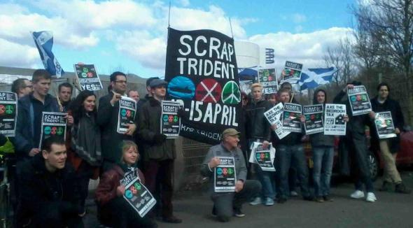 Govan protest group pic
