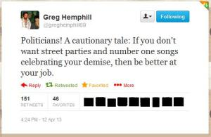 thatcher greg hemphill tweet